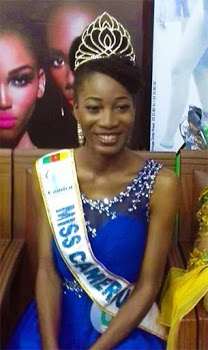 Miss Cameroon 2015 shares Her pet project photos..(she's too cute)