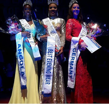 Miss Tourism Nigeria becomes 1st black to win Exquiste Face of the Universe
