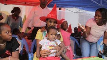 MBGN TOURISM IN PARTNERSHIP WITH WITLUX GROUP HOLDS XMAS PARTY FOR MOTHERS AND CHILDREN AT THE REDCROSS MOTHERLESS BABIES HOME