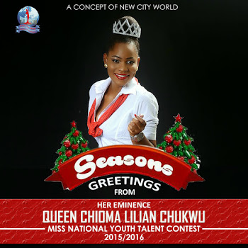 Seasons greeting from Queen Lilian..(photos)
