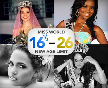 New Age Limit  For Miss World Pageant plus 10 facts about the competition