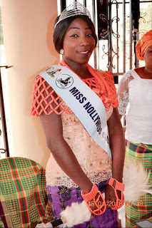 Miss Nollywood Culture &Tourism Pays Visit To Eze Aro of Arochukwu(photos)