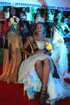 Photos:Williamson Esther Sets A New  Record as she Emerges as winner Of Queen Of Unity Nigeria Pageant.