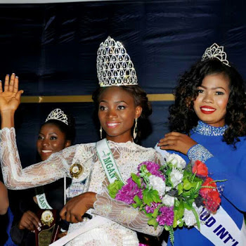 Miss Okorie Jennifer Emerges as Miss Global Ambassador Nigeria 2016( Photos)