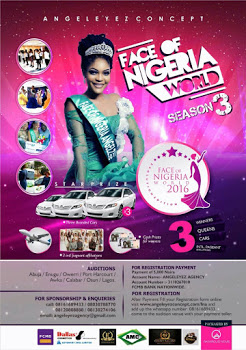 One of the biggest entertainment events in Nigeria and the much awaited FACE OF NIGERIA WORLD PAGEANT and the NIGERIA GOLD FACE AWARD OF EXCELLENCE is finally here.