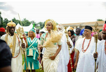 Welcome Home!!!MBGN 2015 Queen Unoaku Anyadike Gets a Warm Reception  by her Community (Photos)