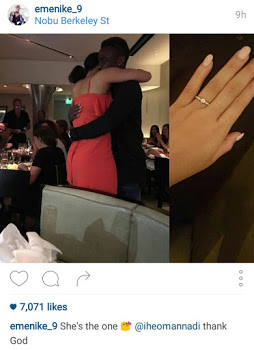 Good News!! Ex beauty Queen, Iheoma is Engaged.