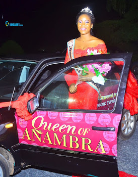 Impressive!!! Miss Ezeh Ifeyinwa  wins  Queen of Anambra  beauty  pageant 2016..photos