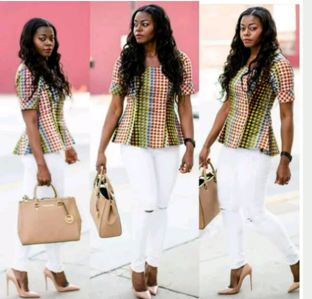 Checkout Stunning Ankara Styles To Slay To Work every Week (Photos)
