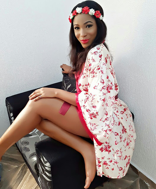 Queen Jennifer Okechukwu Sizzles in Hot Christmas shoots.