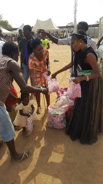 Impressive!!!Queen Simi Silas Launches her 3rd project in IDP Abuja.