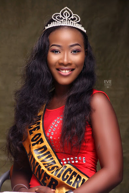 Face of Divas Nigeria 2017,Queen Ogbodu Piriet  Releases official photo shoots.