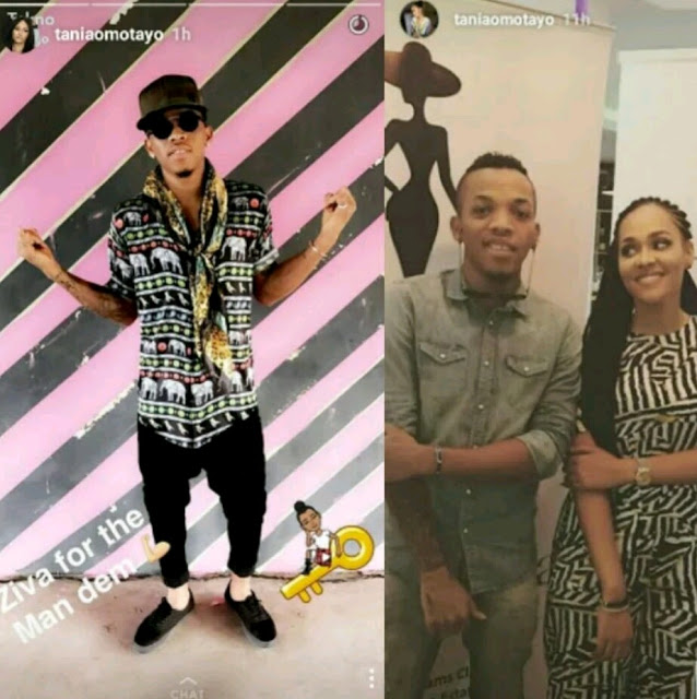 PHOTOS : Tekno Models For Wizkid ' s Ex -Girlfriend , Tania Omotayo