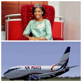 I Saw Death Staring At Me In Airpeace Flight That Nearly Crashed – Nigeria's Miss Tourism