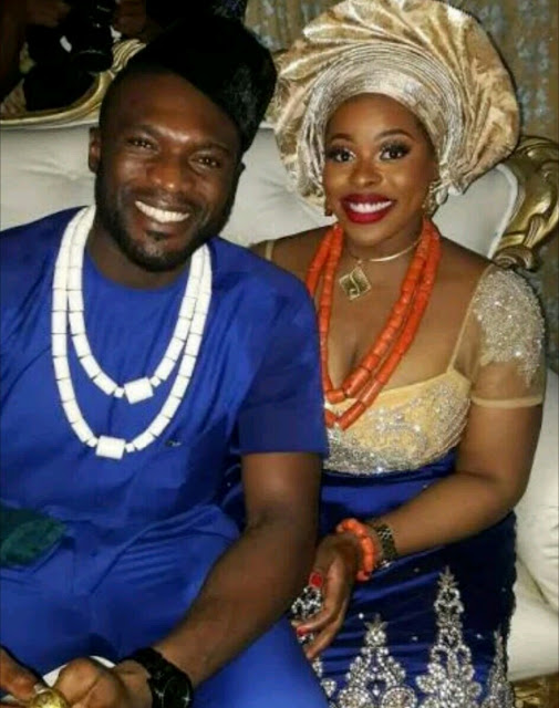 Former Mr Nigeria Kenneth Okolie Weds Girlfriend Jessica Nwakah (photos)