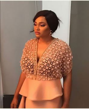 Actress Mercy Aigbe Stuns In Yutee Rone Dress (Photos)