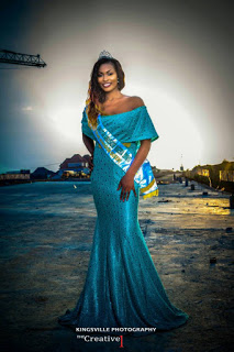 Miss Christian Ambassador Nigeria survived Ghastly Motor Accident on her way back from a Crusade (Photos)