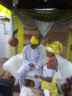 Photos From Ex Beauty Queen Carmelita Akieh's Traditional wedding