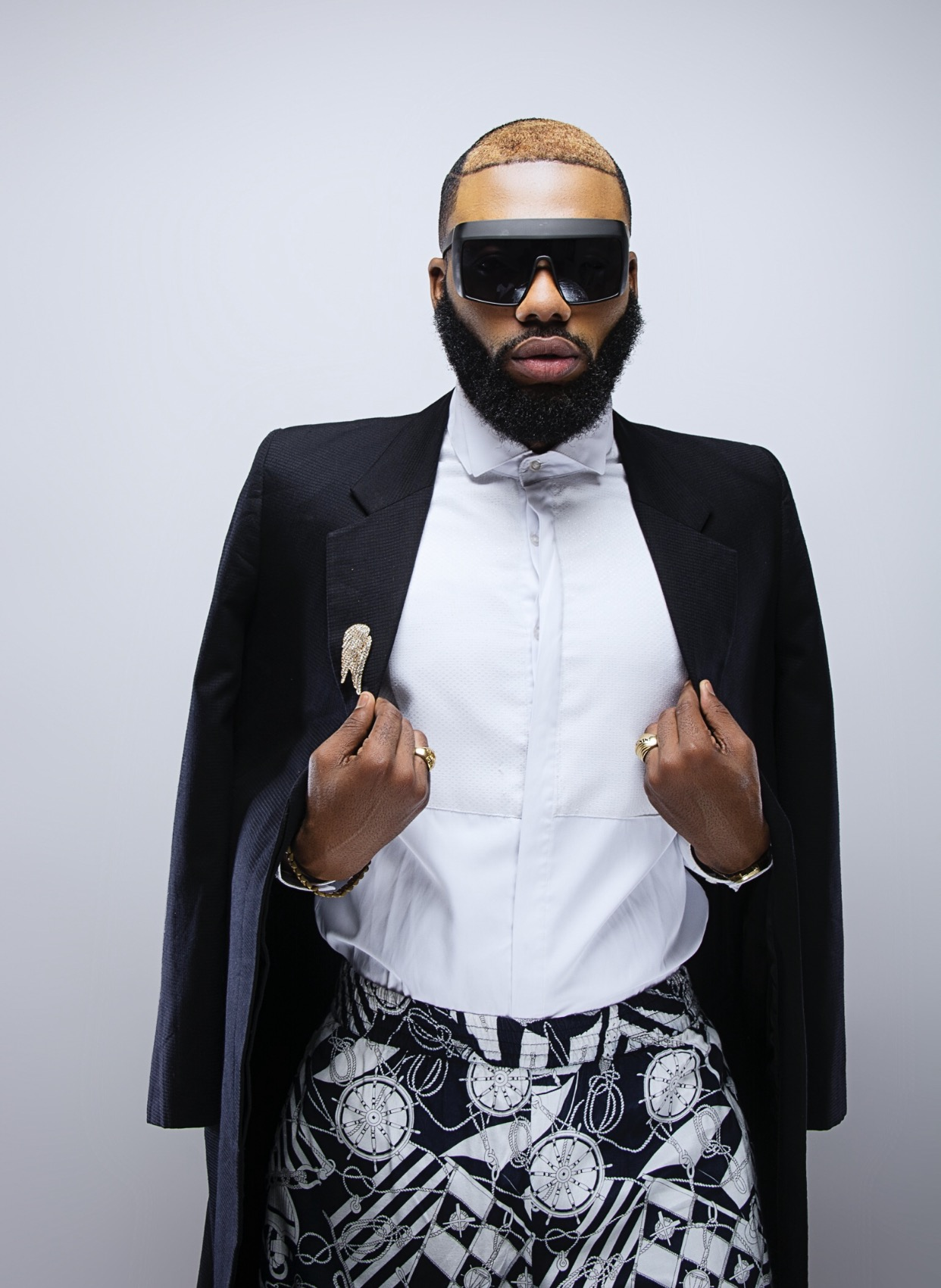 Celebrity Stylist, Swankyjerry Releases Dapper New Photos To Celebrate Birthday