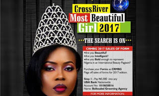 Cross Rivers Most Beautiful Girl hots up as organizers  Flags off 2017 Registration