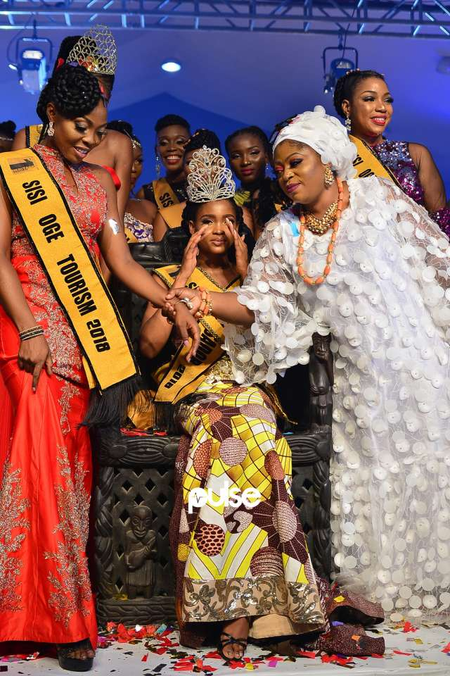 colourful photos from SIS OGE beauty pageant 2018 as chiderah udeh emerge as winner