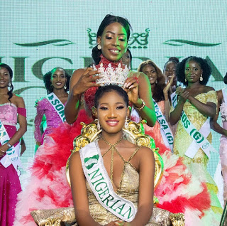 Amune Racheal beat over 50contestants to win  Nigerian queen 2018 Crown (Photos)