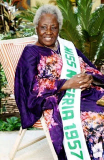 First Miss Nigeria pageant winner Celebrate her 86th birthday with adorable photos (First beauty queen to emerge in Nigeria)
