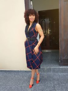 Angel samuda nollywood actress outfit