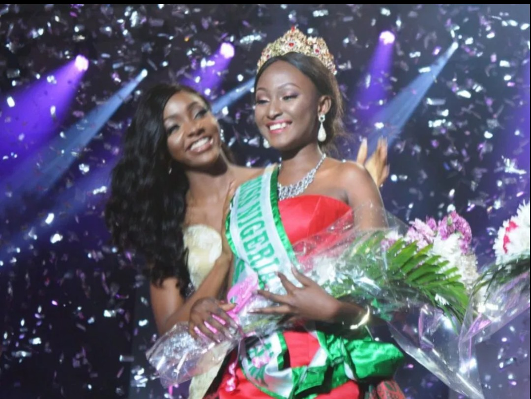 Winning beauty pageant crowns Nigeria