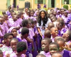 Queen of Aso winner,Kome Igbho Mark world polio day with Medical outreach in Jabi Abuja