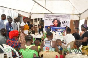 Medical out reach by empress njamah foundation and Queen Kome Igbho