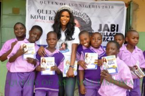 Queen of aso winner Kome Igbho medical outreach in Jabi Abuja