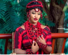 Stunning Birthday photos of Abuja ex beauty queen cum fashion designer, Mrs Blessing Oche