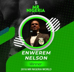 Winner Mr Nigeria 2018