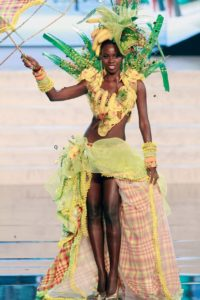 Africa beauty pageant costume photo