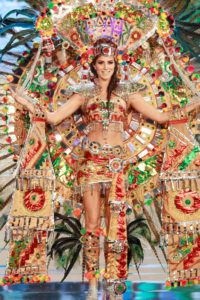 Mexico beauty pageant costume