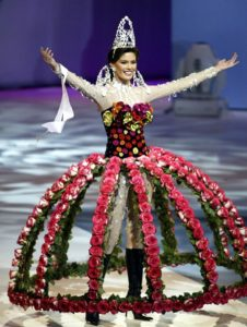 Beautiful beauty pageant costume