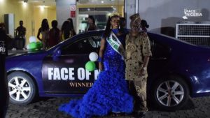 Car Photos of winners at Face Of Nigeria 2018 pageant