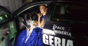 Winners car at Face Of Nigeria Pageant 2018