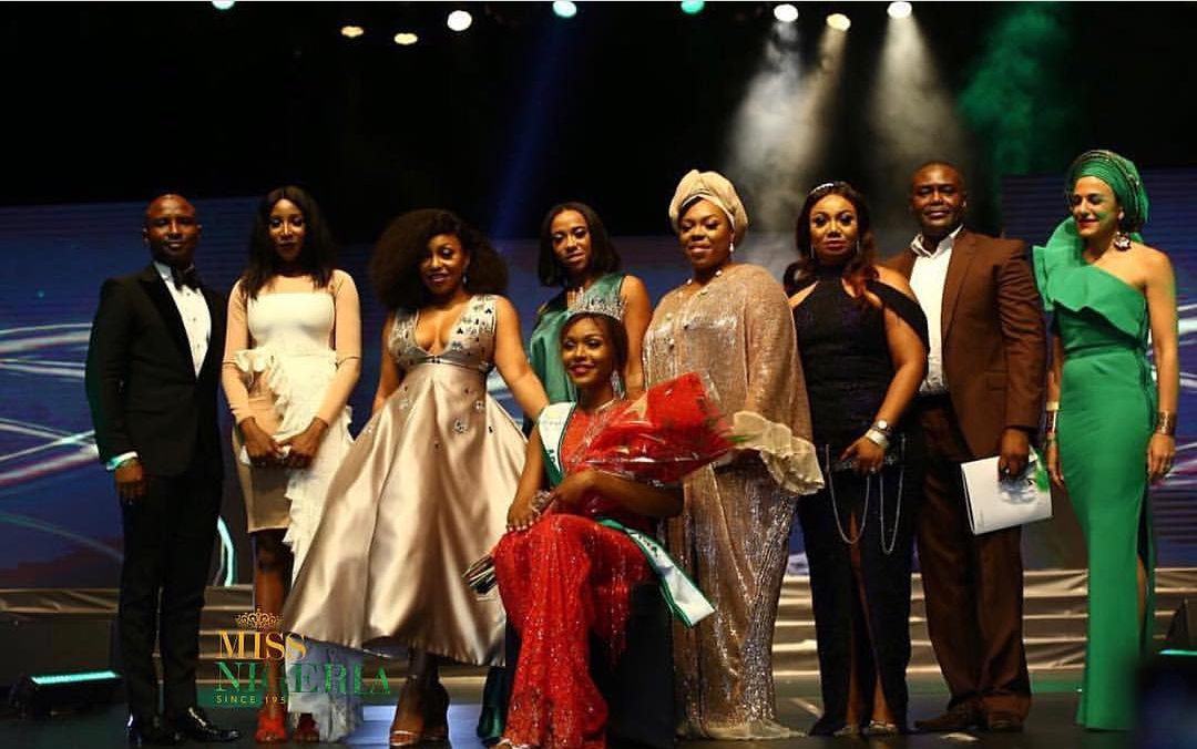 Miss Nigeria 2018:25 year old model Chidinma Leilani Aaron crowned miss Nigeria 2018 (Photos)