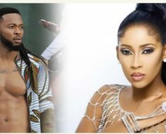 Sandra okagbue second child with Flavour