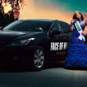 Face of Nigeria 2018 queen Joy Nguma shows off her near completed mansion