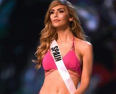 Angela Ponce photos of transgender in miss universe 2018