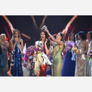 Miss universe 2018 winner Catriona Gray from Philippine