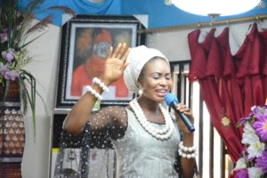 The Christian queen Nigeria preaching at kings palace Delta State