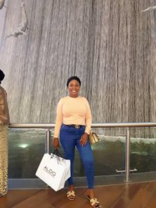 First Female welder, Omoniye lesley faith shares Beautiful Pictures From her Dubai Trip