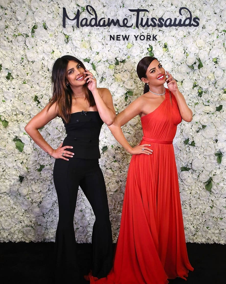 Miss World 2000 Priyanka Chopra's  immortalized at Madame Tussauds wax museum in New York City