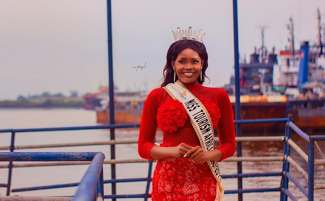 Esther Ogechi Gabriel, Newly crowned Miss Tourism Africa releases official photo shoot.