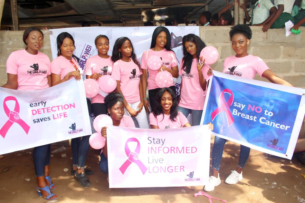 Ex MBGN Queen Emmanuella Yaboh Organizes Breast Cancer Awareness program in Lagos.