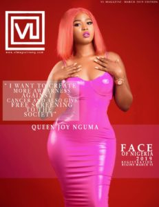 Joy Nguma put curvy backside on display in latest cover of VL Magazine.